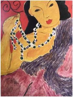 Henri Matisse-Nadia Regardant A Droite Femme III-1995 Poster