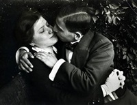 Lovers, Budapest, Hungary, 1915