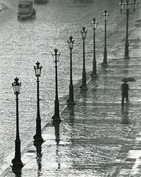 Place Gambetta, Paris by André Kertész