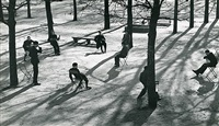 After school in the Tuileries, Paris