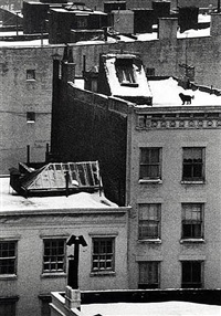 Untitled (Rooftops, Washington Square) by André Kertész