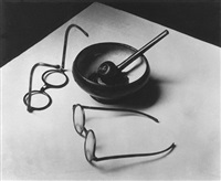 Mondrian's Glasses and Pipe, Paris, 1926