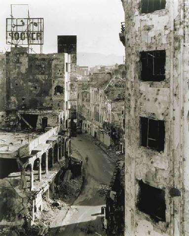 Gabriele Basilico, Beirut 1991 - Rue Gourand