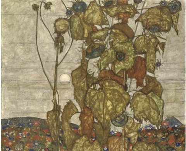 Egon Schiele, Herbstsonne