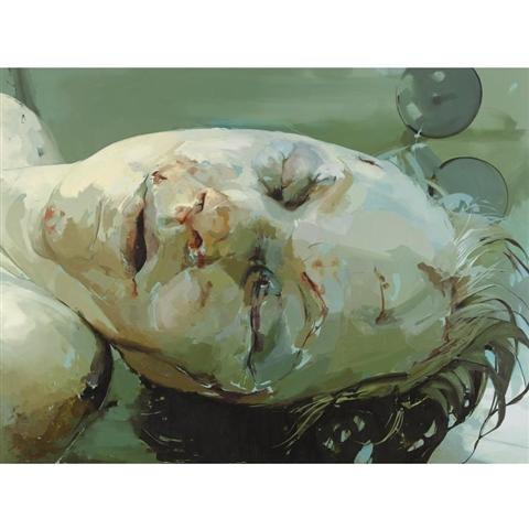 珍妮 萨维尔jenny saville(英国1970-)作品集1 - 刘懿工作室 - 刘懿工作室 YI LIU STUDIO