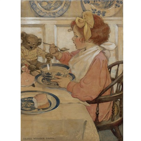 Jessie Willcox Smith, Then the epicure (The third age)