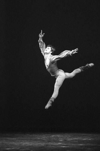 Mikhail Baryshnikov Leaping