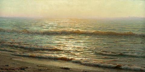 Alexander Harrison - Peintre dans Peinture