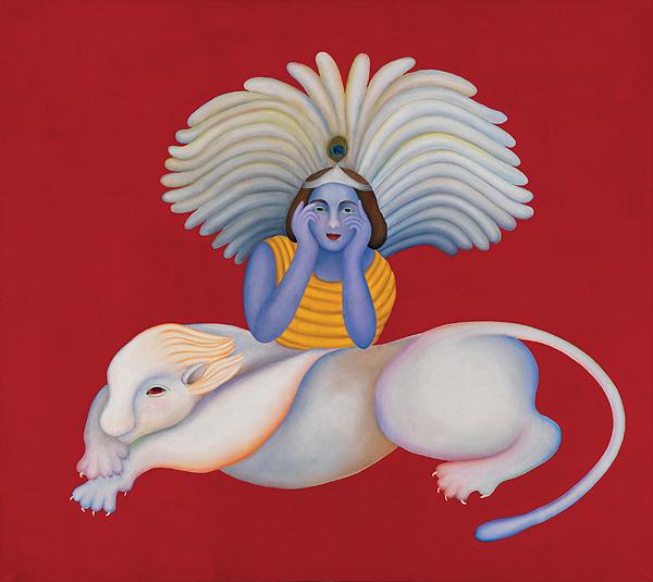 Manjit Bawa, Untitled